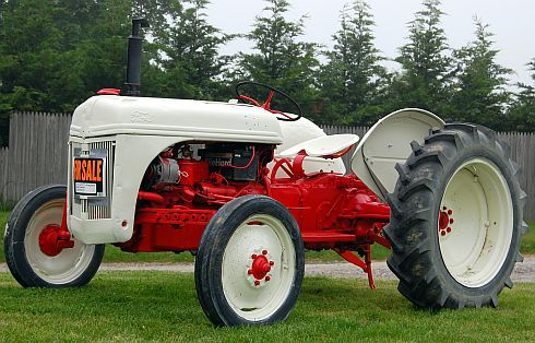 1950ish Ford tractor